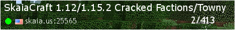 SkaiaCraft 1.8/1.12.2 Cracked Faction/PVP