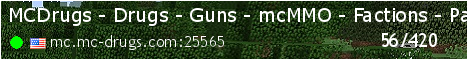 MCDrugs - Drugs - Guns - mcMMO - Factions - Parkour - Econom