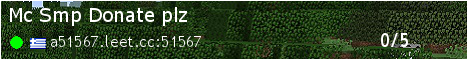 Banner for Mc Smp Donate plz server