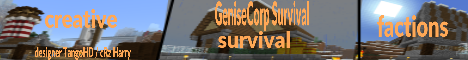 minecraft pe servers - Genesis Survival [SEMI-PRIVATE]