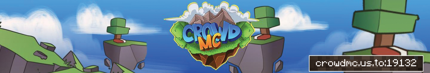 Banner for CrowdMC OP Factions server