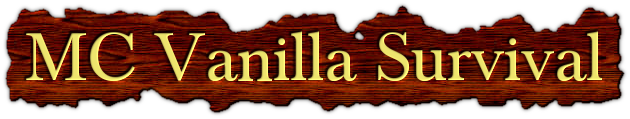 Banner for MC Vanilla Survival server