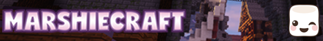 Banner for Marshiecraft Minecraft server