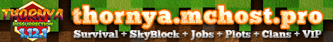 minecraft servers - Thornya SkyBlock 1.12.1